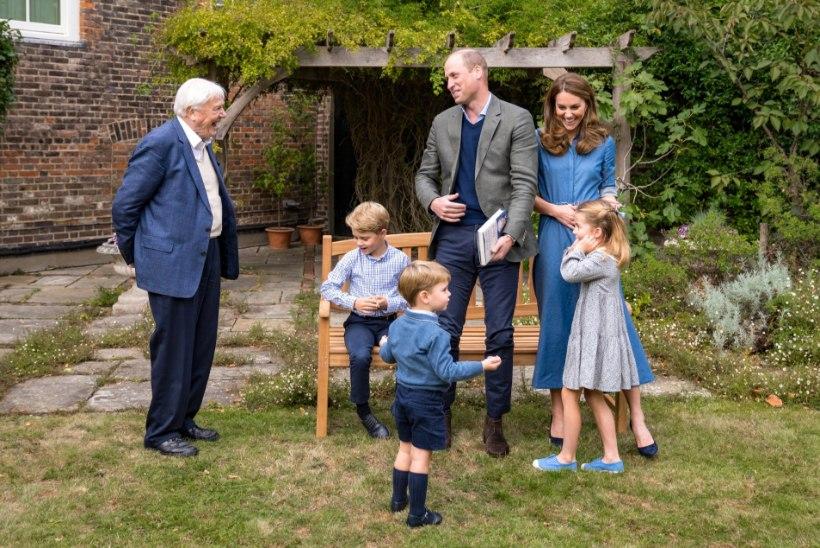 Prints George, printsess Charlotte ja prints Louis tegid armsa ühise video