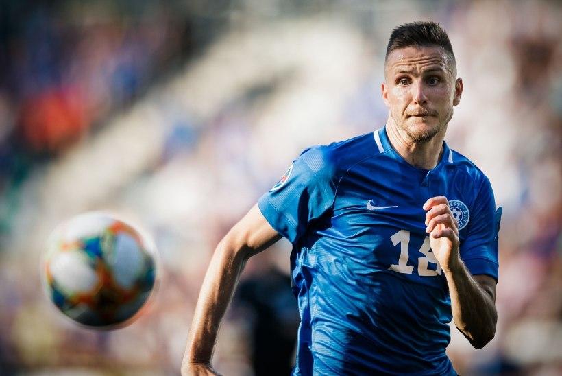 TAGASILÖÖGID: Eesti meeste jalgpallikoondise koosseisus toimus mitu sunnitud muudatust