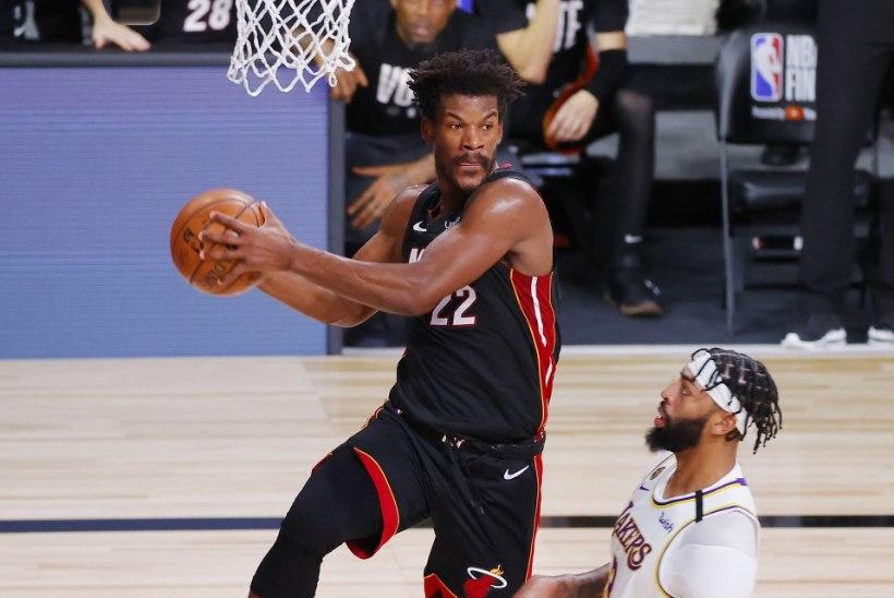 VINGE: Butleri vägev mäng aitas Miami NBA finaalseerias esimese võiduni