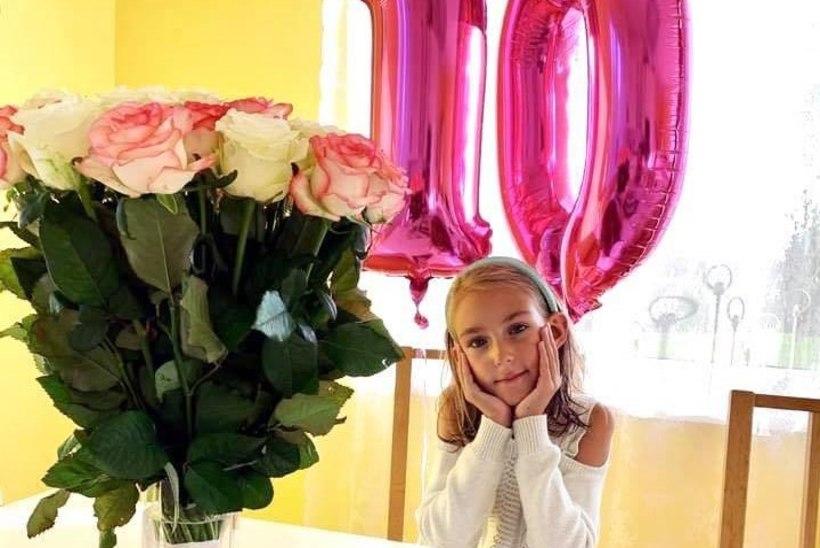 PALJU ÕNNE! Annabel, kelle elupäästvat ravi toetas vähiravifond, sai 10aastaseks!