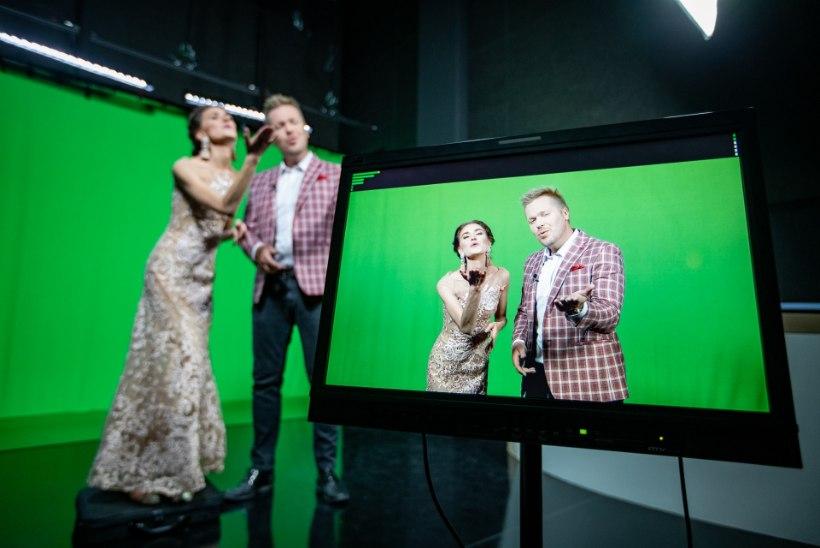Margus Vaher ja Triin Lellep koos teleekraanil: üks meist on ilus ja teine tark