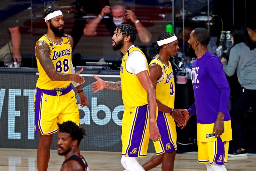 VIDEO | Lakers jõudis ajaloolisest NBA tiitlist ühe võidu kaugusele