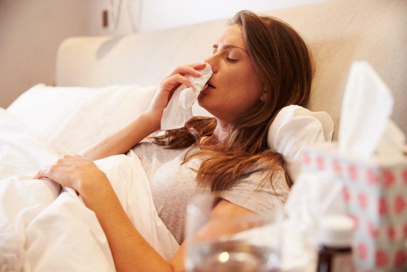 4400 HAIGET: liikvel on mitmed ülemiste hingamisteede viirusnakkused