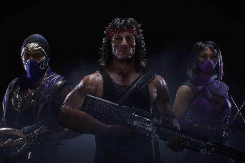 """""""Mortal Kombat 11"""" järgmiseks lisategelaseks on Sylvester Stallone'i legendaarseim filmikangelane"""