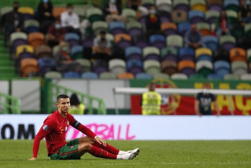 Ronaldo sai pärast mängu ebameeldiva uudise