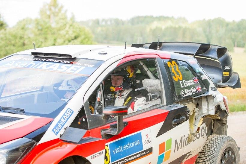Toyota sõitjate ülestunnistus: olime šokeeritud, et Mäkinen meie juurest lahkus