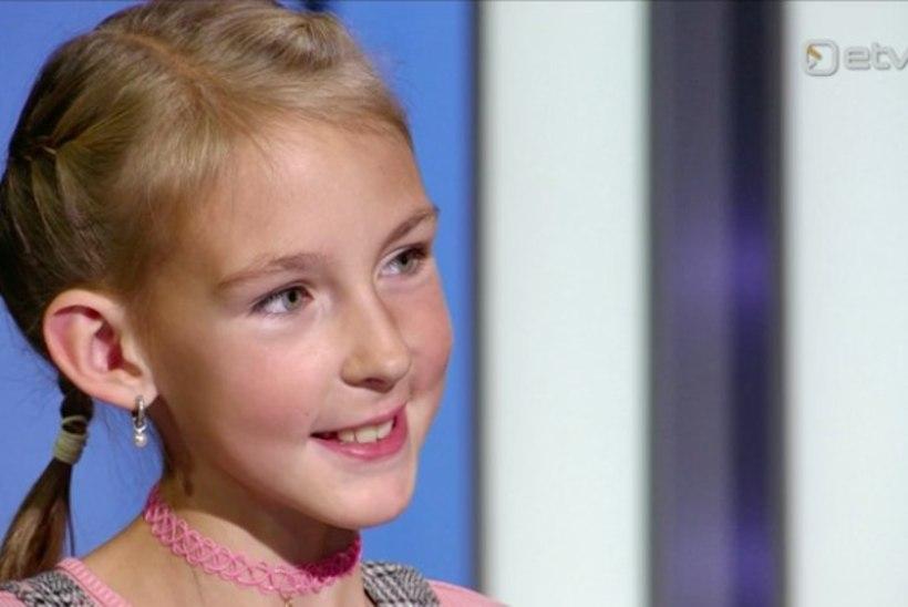 Kasvajaga võidelnud 10aastane Annabel: koolist koju tulles mõtlen vahel, et olen nii pika aja haiglas veetnud