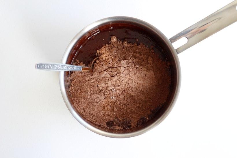 SAMM-SAMMULT   Kirsitäidisega juustukook šokolaadipõhjal