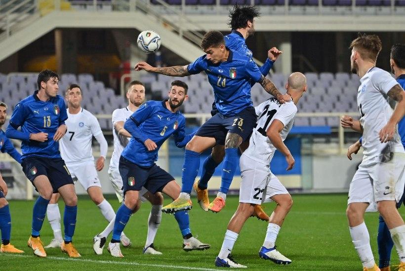 0 : 4... Itaalia näitas Eesti vastu klassi