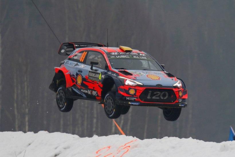 """Talvel üle parda heidetud ralliäss tõestas oma taset: """"Väga selge, et Hyundai auto on ehitatud Thierry Neuville'i jaoks."""""""
