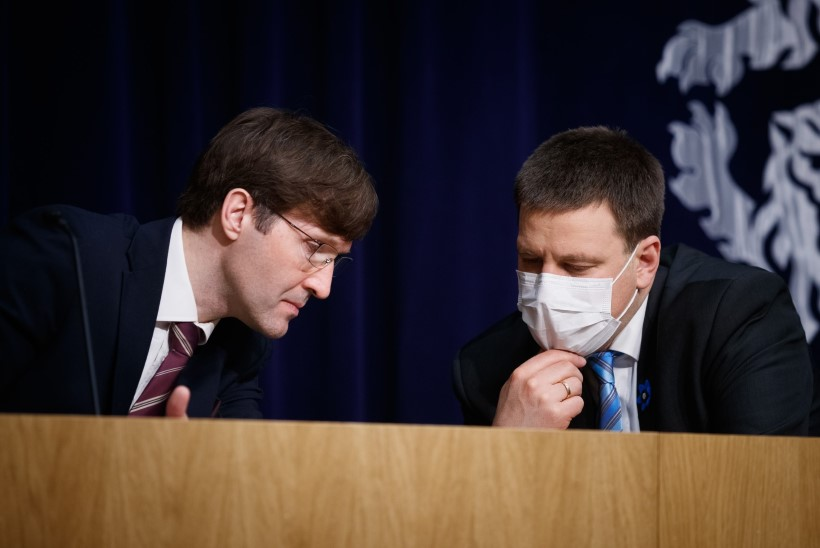 VIDEO | Siseministri kandidaadid on endiselt saladuseks. Martin Helme: kõik senised spekulatsioonid on valed