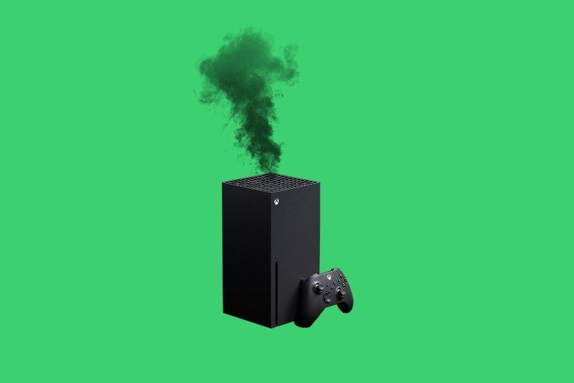 Internetis levivad kulutulena videod suitsevast Xbox Series X-ist. Kas peaksid olema mures?
