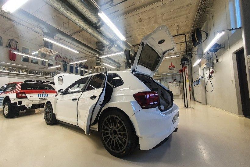 Soome ärimees soetas Egon Kaurile autoralli MM-sarjas osalemiseks masina