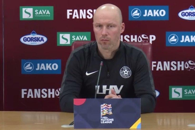 Karel Voolaid: peame saama Põhja-Makedoonia mängust maksimumi, mõnikord võetakse end selg vastu seina olukorras kokku