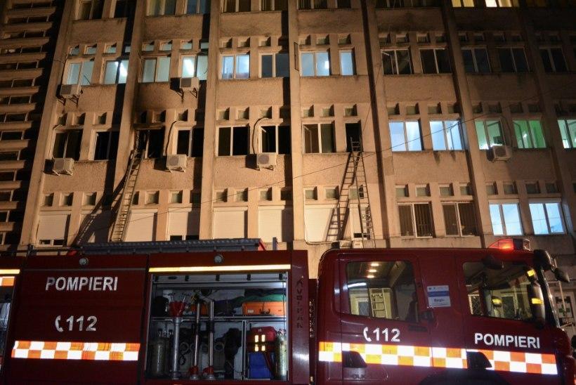 FOTOD   Rumeenia haiglas hukkus tulekahjus 10 koroonapatsienti