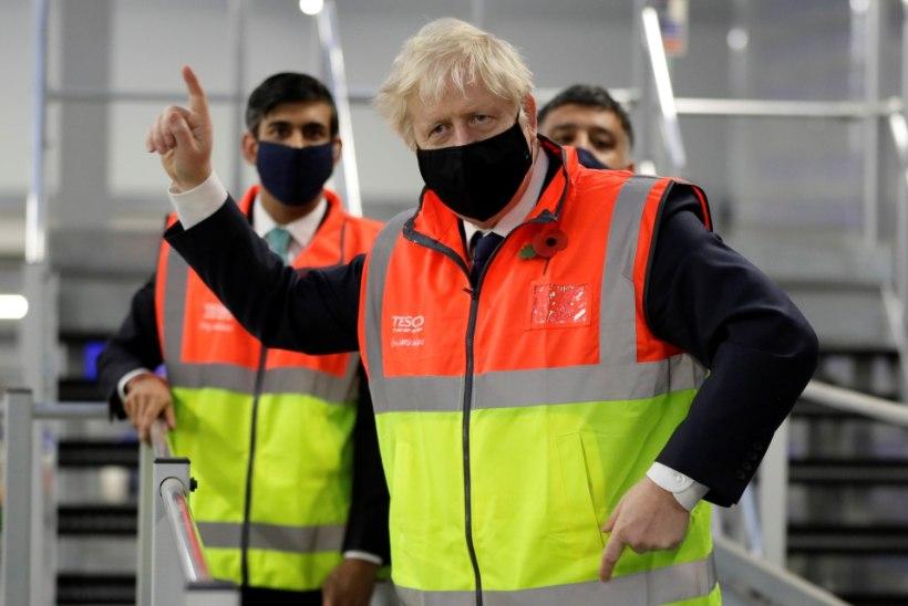 JÄLLE KOROONA: Boris Johnson on pärast kokkupuudet nakatunuga taas eneseisolatsioonis