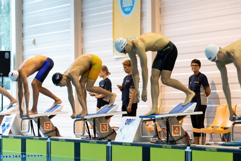 HEA TÖÖ: Kregor Zirk aitas koduklubi rahvusvahelise ujumisliiga finaali