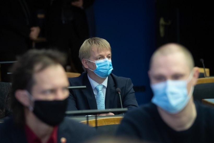 Keskkonnaminister Epler pole veendunud, et inimtegevus on kliimamuutuste peapõhjus