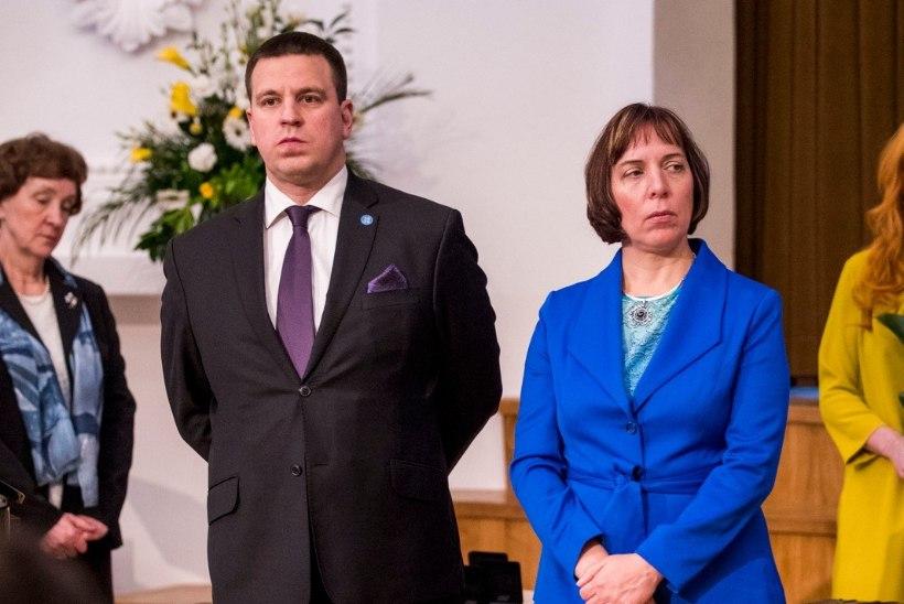 Peaminister Ratas ei näe Repsi käitumises probleemi: toetan Mailist ja hindan tema panust kõrgelt