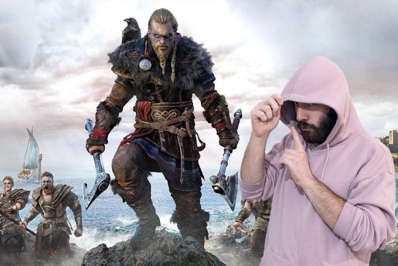 "VIDEO   ""Assassin's Creed Valhalla"" lubab valla päästa sisemuses raevutseva viikingi"
