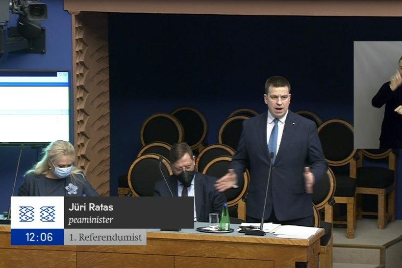 Jüri Ratas: ma olen e-valimiste fänn!