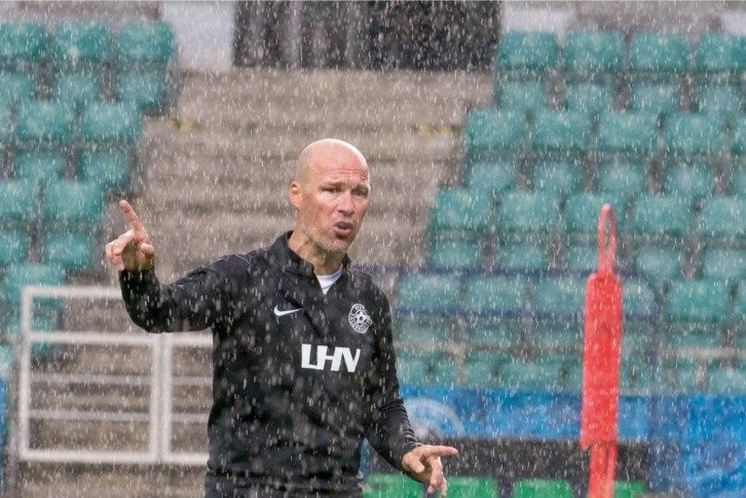 """Jalgpallkoondise peatreener Karel Voolaid: """"Ootasime rohkemat, keegi ju ei taha viimaseks jääda."""""""