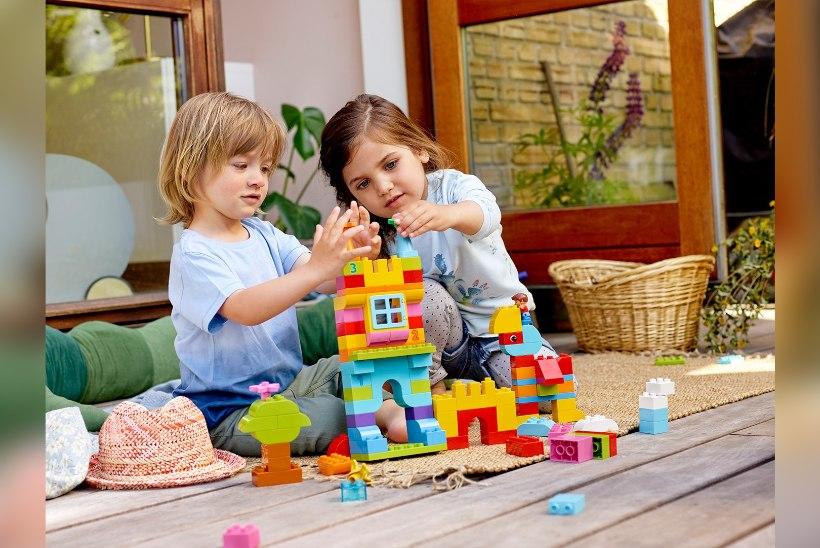 Kas teadsid, et LEGO arendab lapse loovust ja kujutlusvõimet?