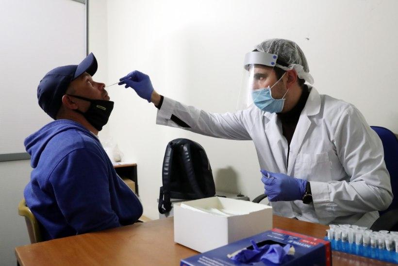 Koroona naaberriikides: Lätis seni suurim positiivsete testide osakaal, Venemaa ületas kahe miljoni nakatunu piiri