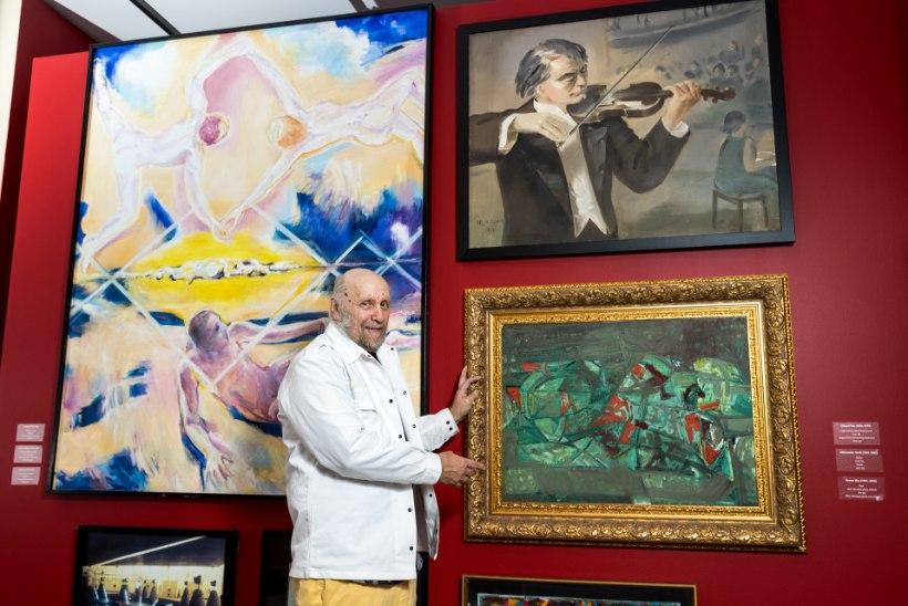 """Eesti suurima erakunstikogu omanik: """"Mul on üle 25 000 taiese, mille hulgas on üle tuhande maali."""""""