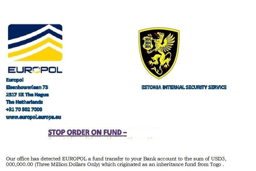 ÄRA USU KELME! Kaitsepolitsei ja Europoli nimelt levib petukiri