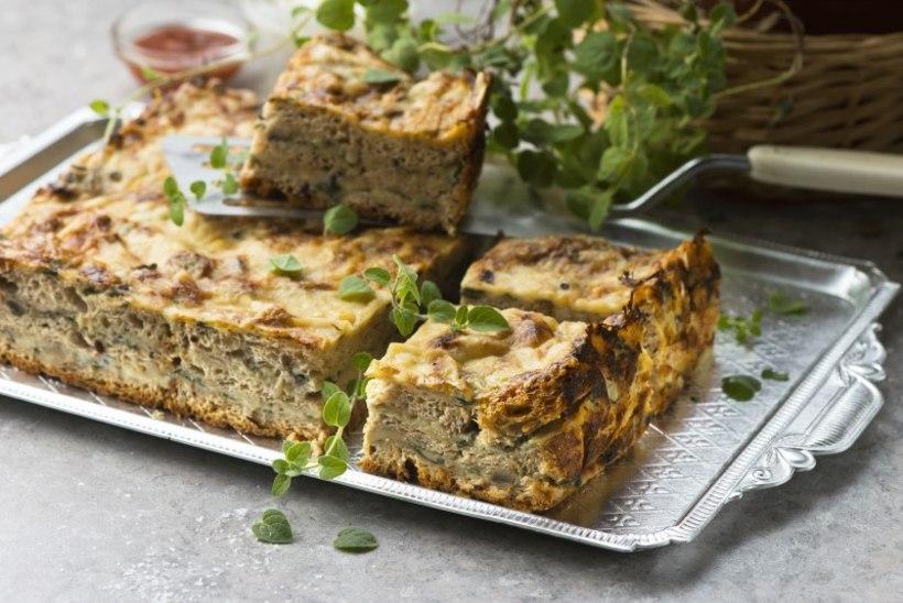 ARMASTATUD RETROROOG | Soe võileivatort juustu ja seentega