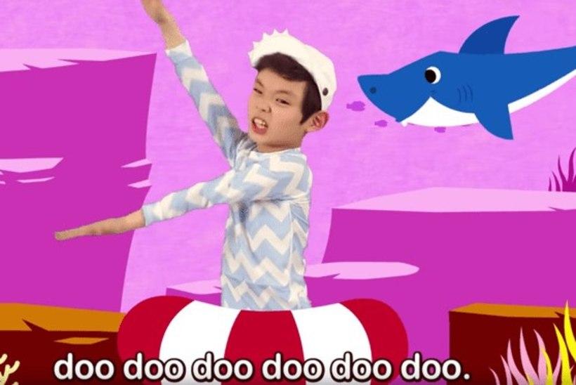 """""""Baby Shark"""" tõusis Youtube'i vaadatuimaks videoks"""