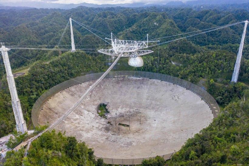 Kuulus observatoorium lammutatakse