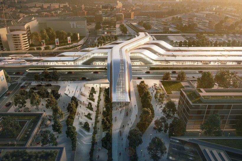 PILDID | TUNNELIST UNISTADES: Rail Balticu Ülemiste terminalis hoitakse kohta ka Helsingi rongile
