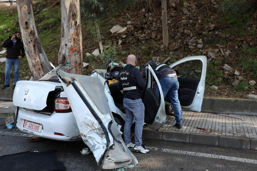 Liibanoni vanglast põgenenud kinnipeetavad hukkusid autoõnnetuses
