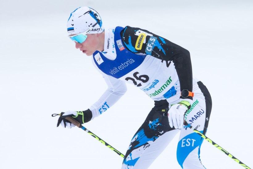 Kristjan Ilves jäi Norra meistrivõistlustel esimesena poodiumilt välja