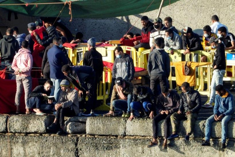 Kanaaridele kerkivad pagulaslaagrid