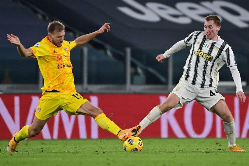 VIDEO | Ragnar Klavan saatis palli Juventuse puuri, paraku VAR ei halastanud
