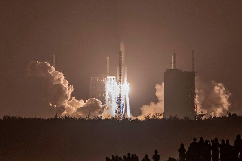 Hiina läks Kuu pealt kive tooma