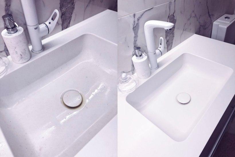 ENNE JA PÄRAST FOTOD: uskumatu, kui efektiivselt nanoained sinu kodu puhastavad!