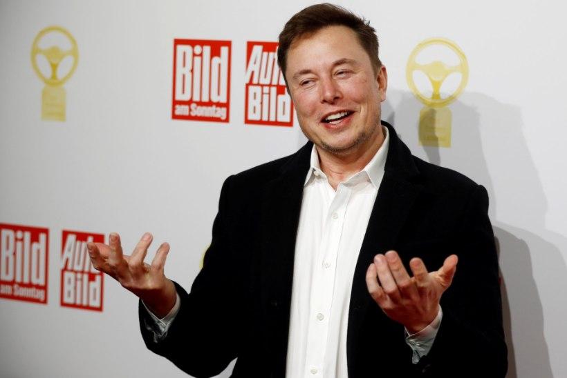 Elon Musk kukutas Gatesi ja tõusis rikkuselt teiseks inimeseks maailmas