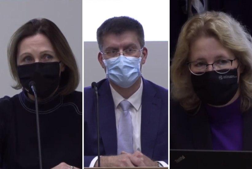 VIDEO   Terviseameti pressikonverents: nädala pärast on haiglaravil 50–100 inimest tänasest rohkem