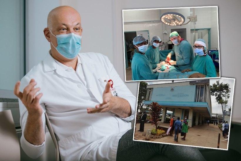 ÕHTULEHT KEENIAS | VÕIMALIK VAID AAFRIKAS! Kirurg Jüri Teras: ravitulemused ei erinenud, hinnavahe oli 4000 korda