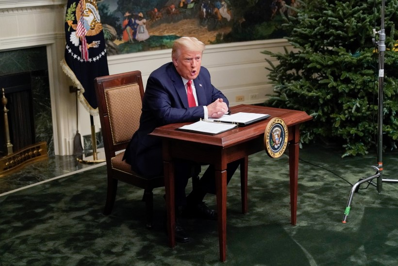 Trump mainis esimest korda, et lahkub Valgest Majast, kui valijamehed nii otsustavad