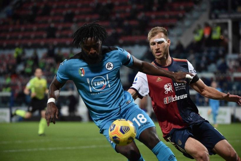 VIDEO | Kas oli puude? Klavan kinkis lisaminutitel vastasele penalti, mis maksis Cagliarile kaks punkti