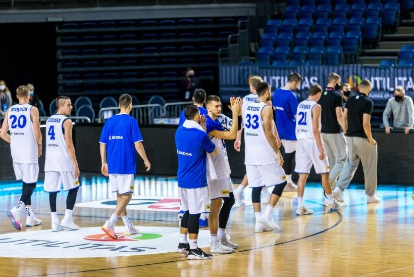 BLOGI JA GALERII | Suurepäraselt kaugviskeid tabanud Venemaa alistas Eesti 28 punktiga