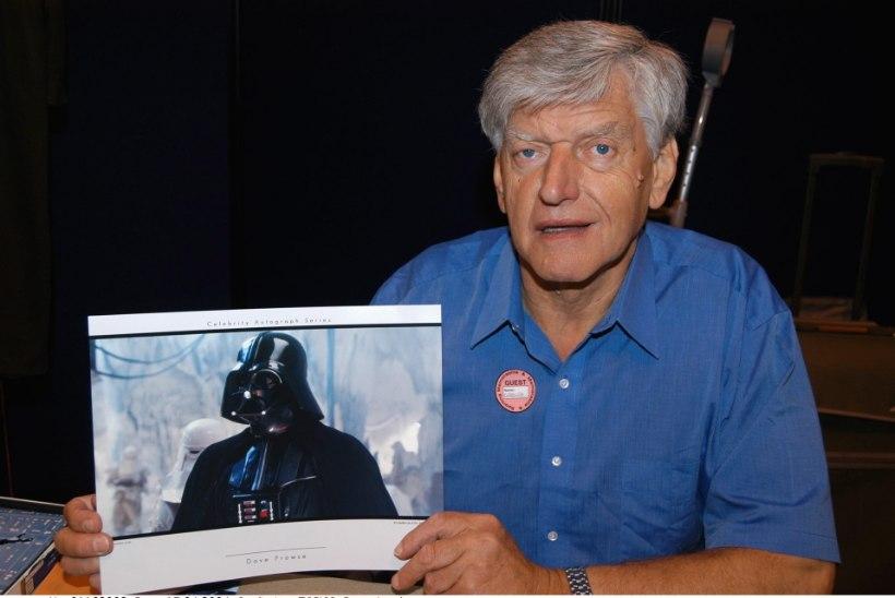 Suri Darth Vaderi osatäitja Dave Prowse