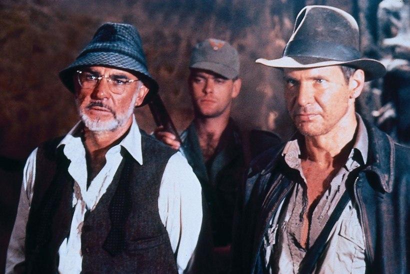 Harrison Ford leinab oma filmi-isa Sean Conneryt