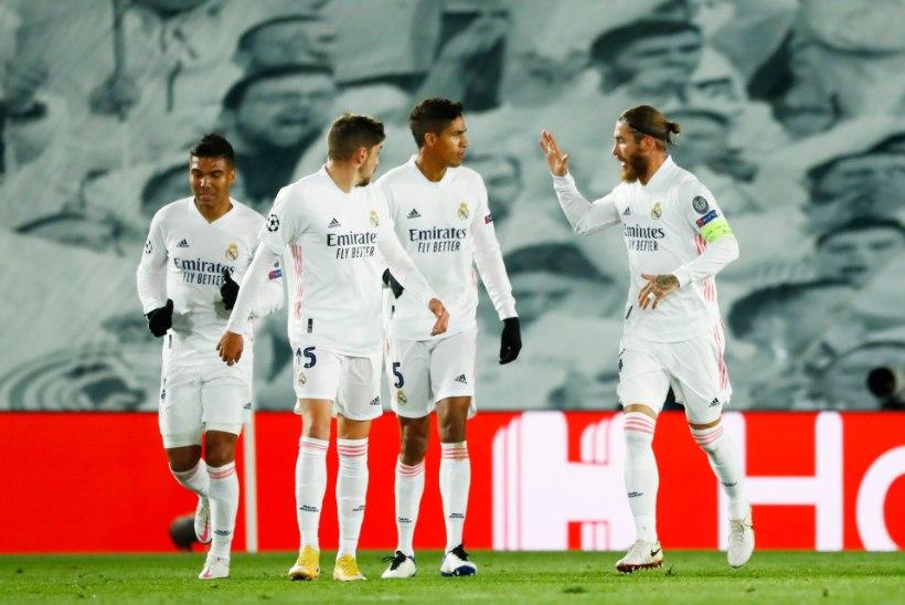 MEISTRITE LIIGA | Madridi Real alistas Milano Interi, Liverpoolile kindel võit