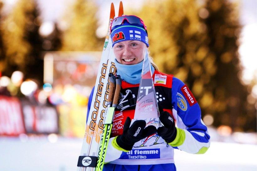 SINIVALGE VALE   Dopingu all kokku varisenud Soome suusatamise päästis miljardär
